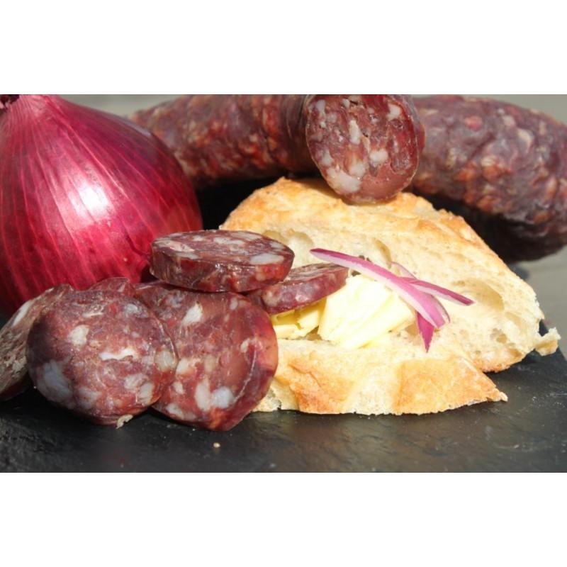 Saucisse s che de foie fabrication maison produit naturel - Fabrication de saucisson sec maison ...